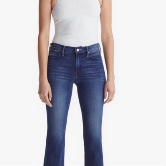 Mother The Rascal Cuff Jeans Size 24